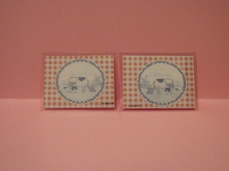 2 Placemats rood