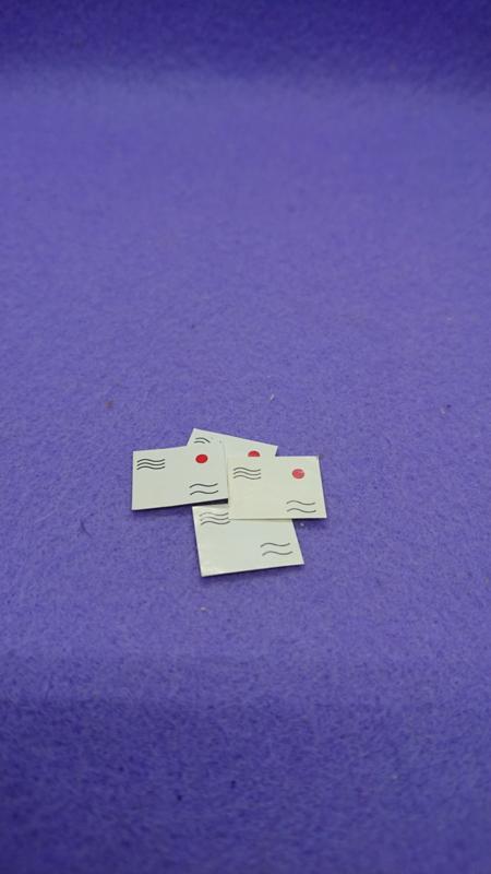 4 Briefkaarten