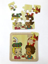 Sinterklaaspuzzeltje Lotte & Max