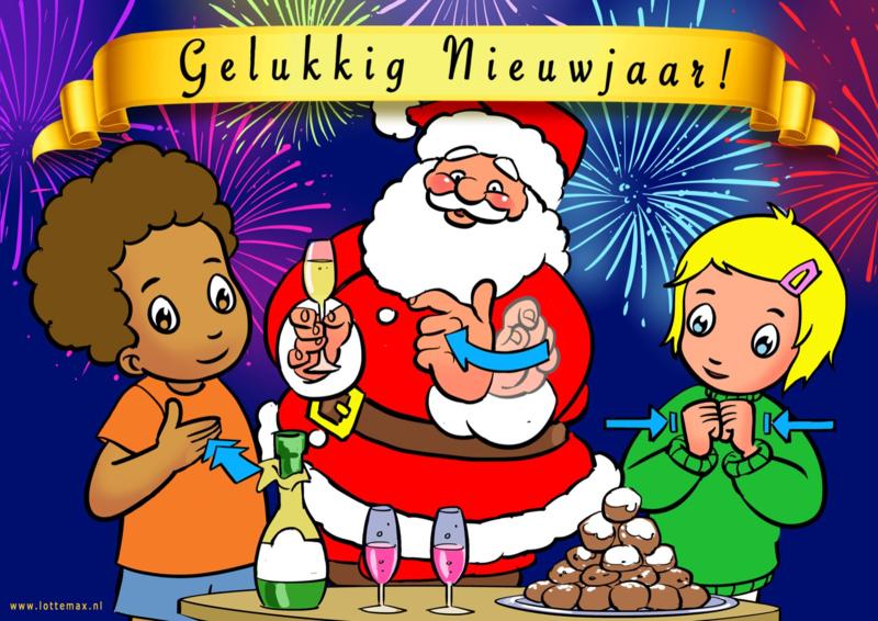 Gelukkig Nieuwjaar Lotte & Max