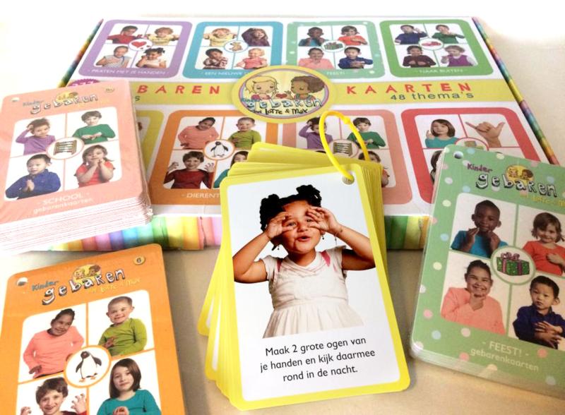 Gebarenkaarten | 8 sets