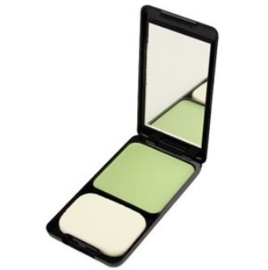 Green camouflage creme foundation