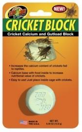 Cricket Block Calcium & voer voor voerkrekels