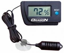 Hygrometer digitaal, 65 x 40 mm, met water vaste voeler