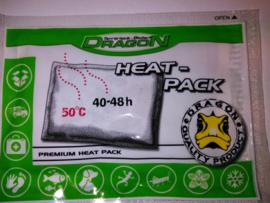 Heat Pack Geactiveerd voor tijdens het transport