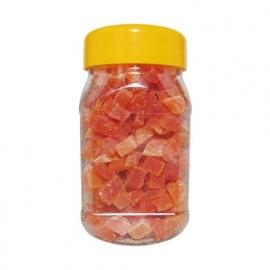 Papaya Blokjes  280ml / 200 gram weer vooradig