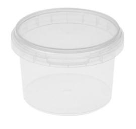 Plastic bakje rond ø95mm 280 ml. ( 10 stuks )