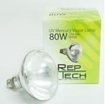 Reptech Kwikdamplamp 80 watt  met ingebouwde ballast