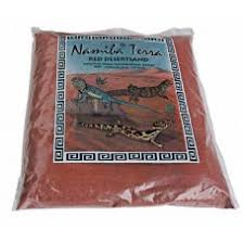 Namiba-Terra - rood 20 kg Graafbare terrariumzand