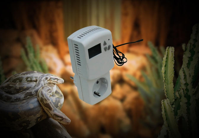 HT-600 PLUGIN Thermostat 1,5 meter sensorcabel