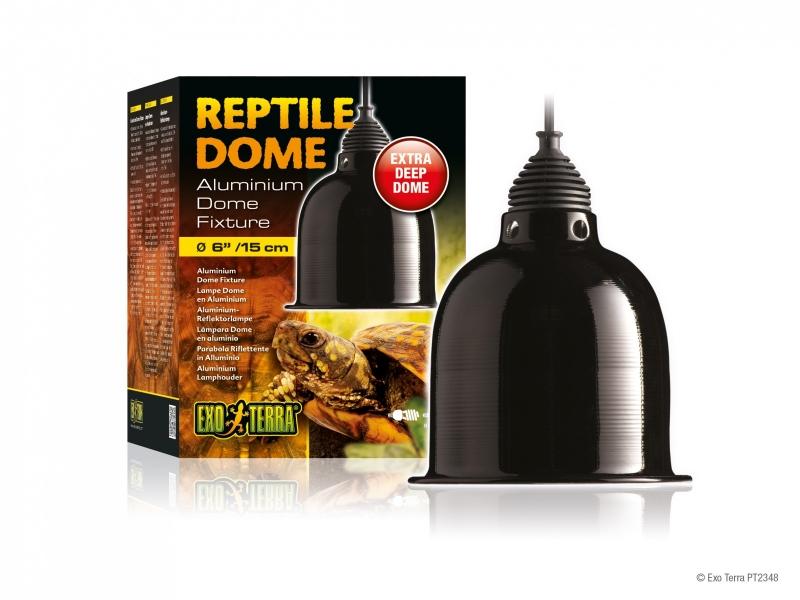 Reptile Deep dome max 75 watt ∅ 15 cm