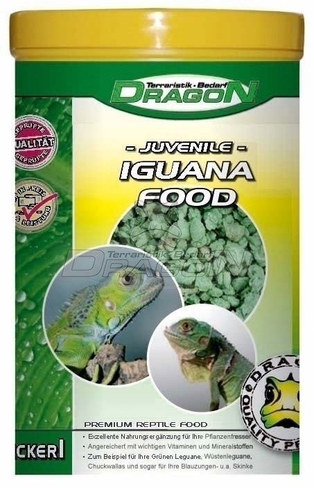 Iguana Food Juvenile 100g / 1 Liter Dragon Dry Reptile Food