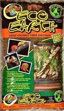 Eco aarde ® Losse Kokoshaar Ondergrond 8,8 liter