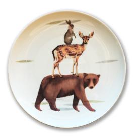 Bord beer, hert, konijn