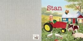 Geboortekaartje Stan | tractor boerderij