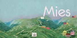 Geboortekaartje Mies | berglandschap meisje
