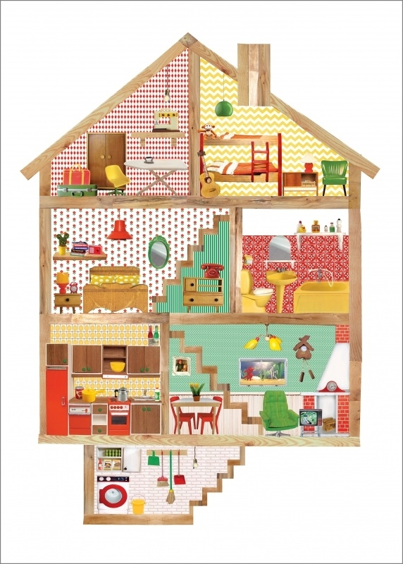 Poster Poppenhuis  A3