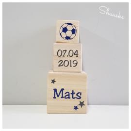 houten blokken met naam - 9