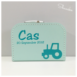 Koffertje voor Cas