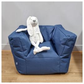 Jollein Beanbag Fauteuil   Kinderstoeltje met naam   Jollein Poef Jeans Blauw
