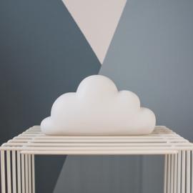 Dreams wolk spaarpot met naam   Atelier Pierre Spaarpot   Money Box Wit
