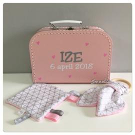 Kraampakket Roze/Wit/Grijs - klein