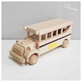 Houten Schoolbus | Beukenhouten Schoolbus