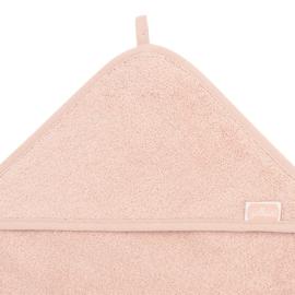 Jollein Badcape Badstof - 75 x 75cm - Pale Pink   Baby Badcape met naam