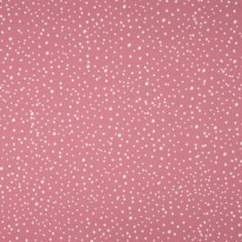 Roze Poppenwagen met Naam en kleine hartjes
