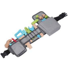 New Classic Toys Tool Belt | Grijs Antraciet Gereedschapsriem met naam
