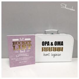 Kraamcadeau pakket Opa & Oma | Voordeelpakket
