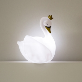 Dame Blanche Led nachtlampje met naam | Atelier Pierre Nachtlampje - Wit
