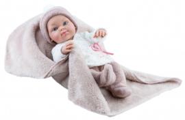 Pop Mini Pikolines meisje met deken (32cm)