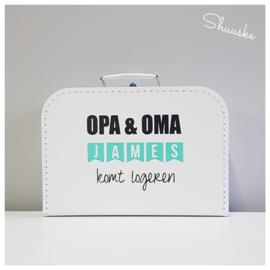 Kinderkoffertje OPA & OMA