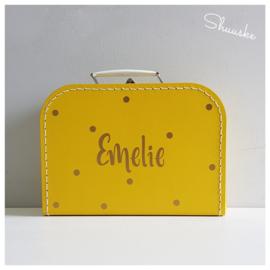 Nr. 5 Kinderkoffertje met naam