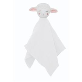 Jabadabado Knuffeldoekje Schaap met Naam | Comfy Blanket Sheep