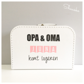 Kinderkoffertje OPA & OMA