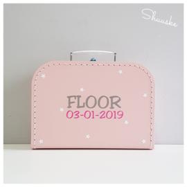 Koffertje voor Floor