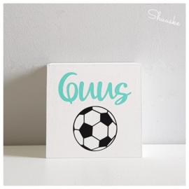 Spaarpot met naam en voetbal | Goal Getter