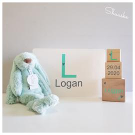Kraampakket Herinneringenkist met knuffel Happy Horse - Letterliefde Neutraal | Voordeelpakket