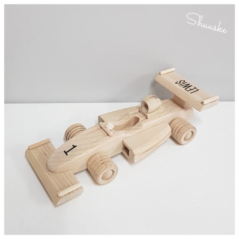 Houten Raceauto | Beukenhouten Racewagen