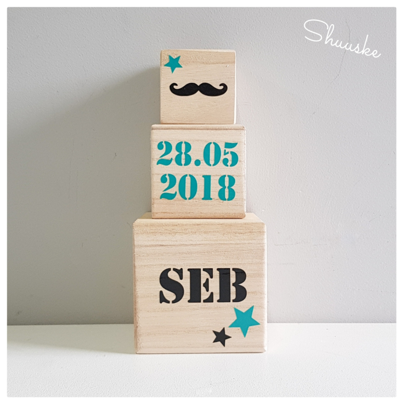 houten blokken met naam - 4