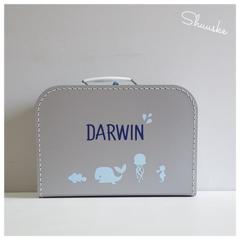 Koffertje voor zeediertjes
