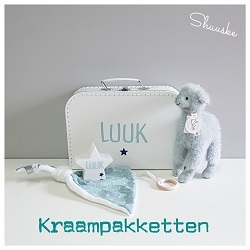 Kraampakketten en geboortepakketten met naam