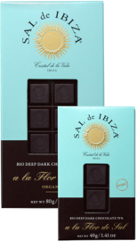 SAL de IBIZA pure chocolade 70% met Fleur de Sel