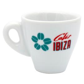 Cafés Ibiza espressokopje met schotel (50ml)