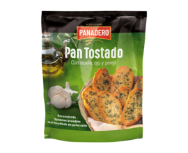Panadero Pan Tostado met knoflook en peterselie