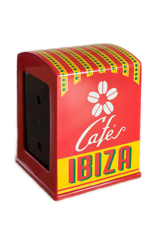 Cafés Ibiza servethouder