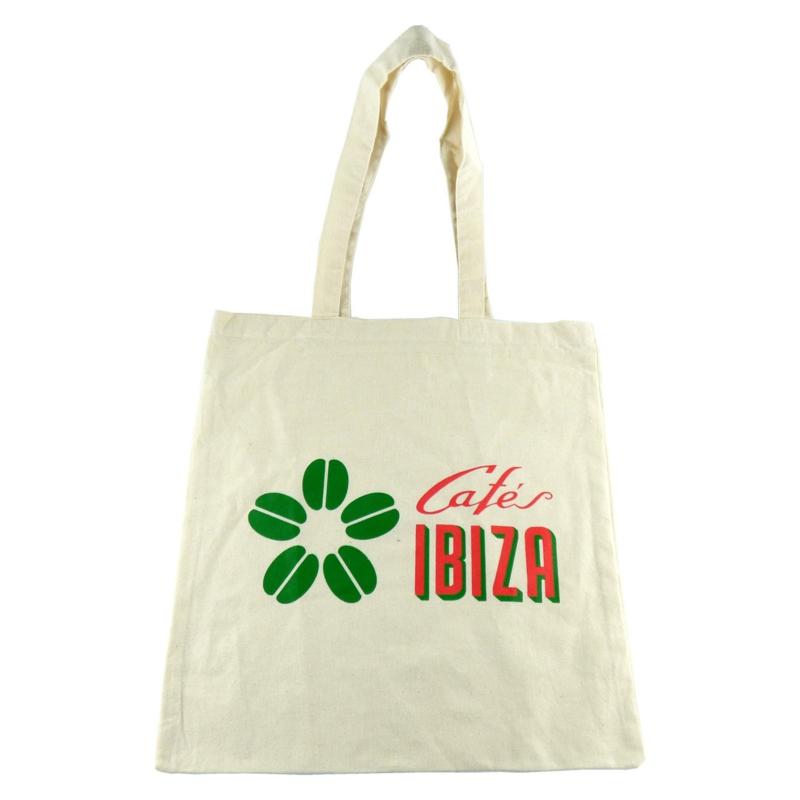 Cafés Ibiza katoenen draagtas