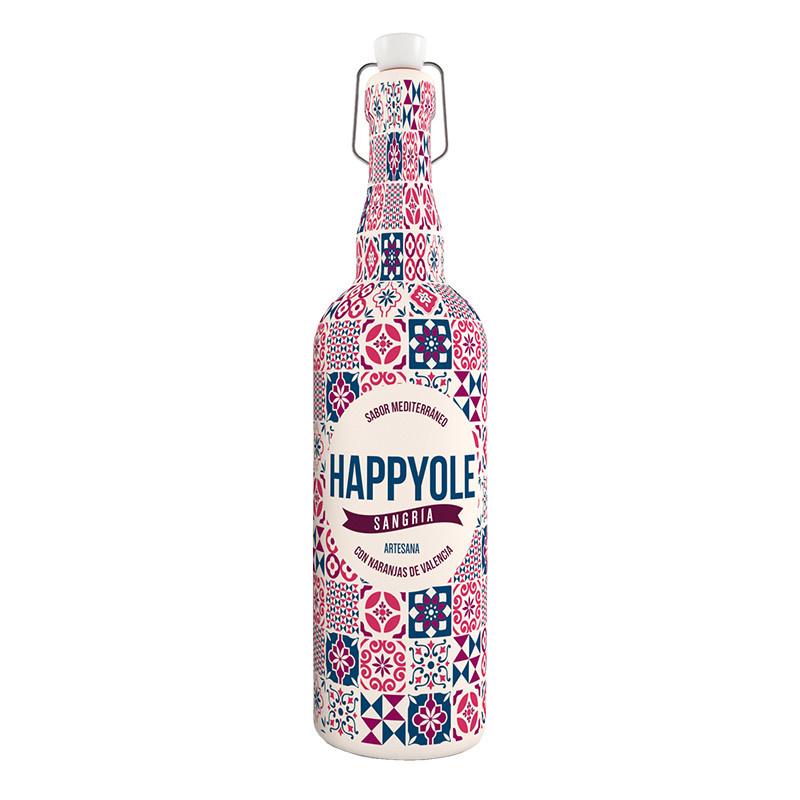 HappyOle Sangria met tempranillo 750ml (rood)